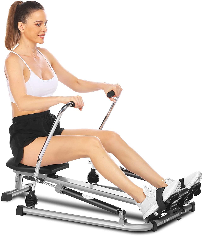ANCHEER Vogatore da fitness idraulico