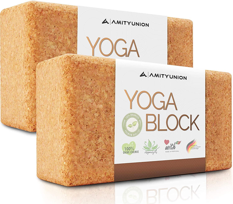 AMITYUNION blocchi yoga